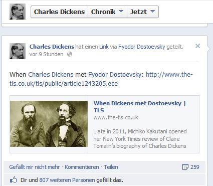 When Dickens met Dostojewski