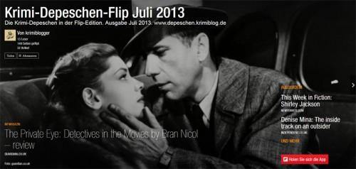 Krimi-Depeschen-Flip Juli 2013